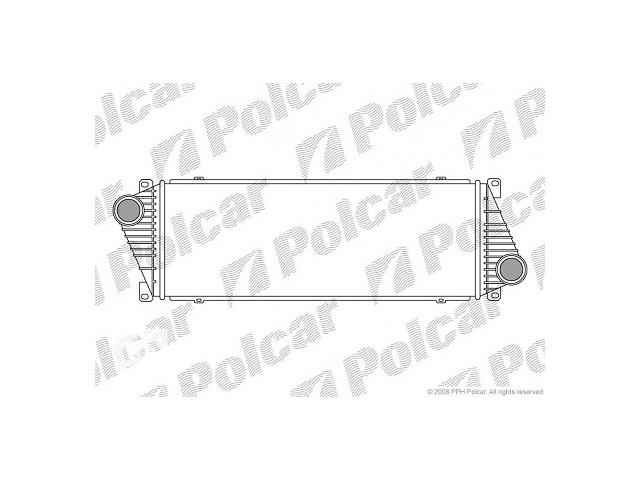 Новый радиатор интеркуллера для автобуса Mercedes Sprinter- объявление о продаже  в Луцке