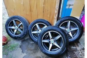 Низкопрофильные колеса в сборе Б/У R14 195/60 для ВАЗ, LADA, Жигули (низкопрофильные шины, низкопрофильная резина)