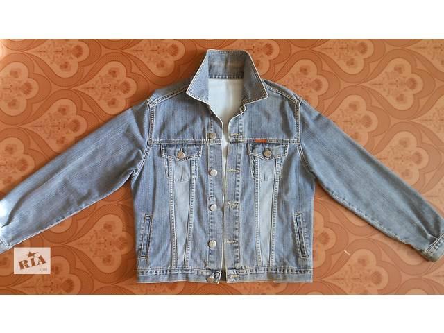 продам Мужской джинсовый пиджак бу в Апостолово