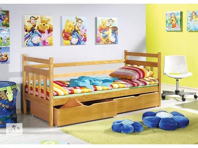 Односпальная кровать Стандарт Массив дерева с ящиками- объявление о продаже  в Киеве