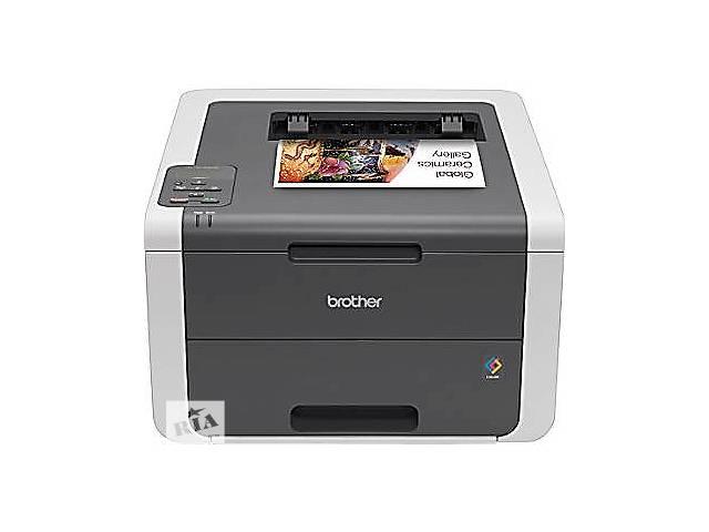 купить бу Принтер лазерный цветной Brother HL-3140CW + kabel USB в Львове