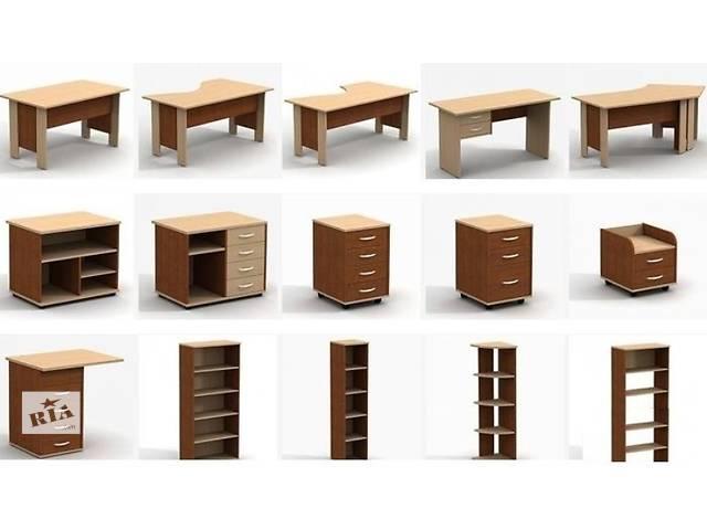 купить бу Офисная мебель, стол, шкаф, стеллаж, пенал в Виннице