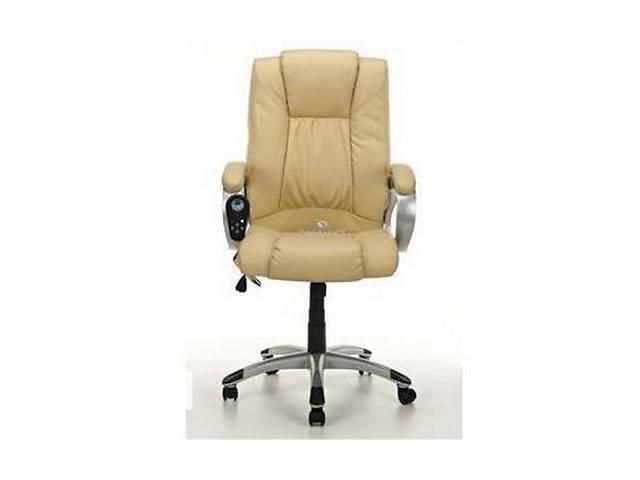 купить бу Офисное кресло массаж Calviano Manline (беж). Нет в наличии в Львове