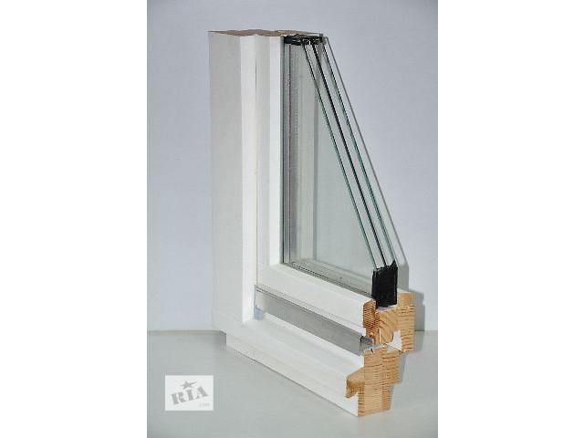продам Окно и балконная дверь из дерева. Евробрус. Арка. Стеклопакет. бу в Киеве