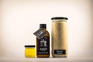 Олія білого кунжуту масло белого кунжута та клітковина