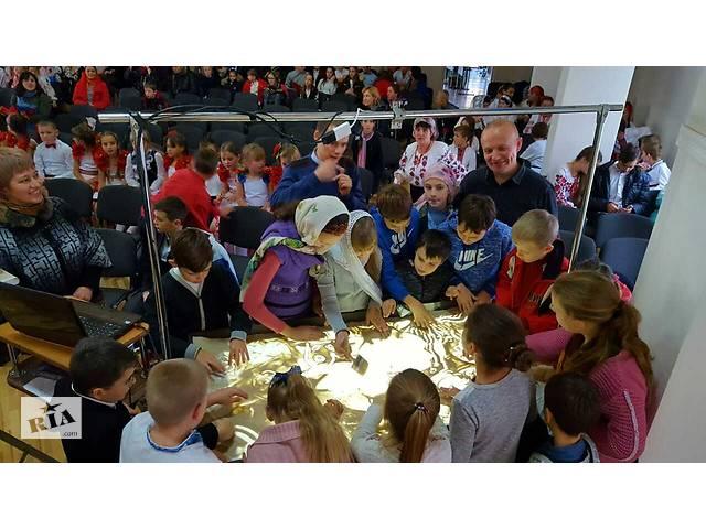 Песочная анимация в Виннице развивающий мастер класс рисования песком для талантливых деток- объявление о продаже  в Виннице