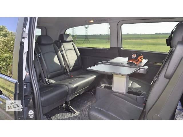 Оригинальный комплект сидений 2+2+3 или 2+2+2 в черной натуральной коже Mercedes Vito Viano Ambient w639.- объявление о продаже  в Ровно