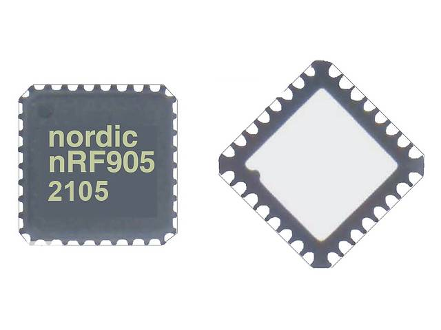 купить бу Трансивер Nordic NRF905 в Запорожье