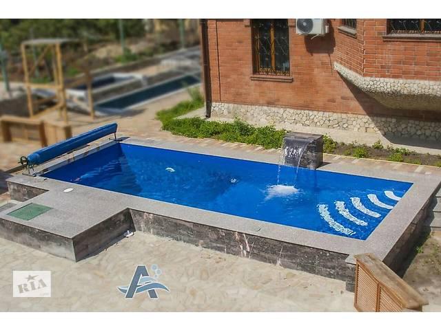 купить бу Проектирование, строительство бетонных бассейнов. Мозайка, ПВХ/плитка в Одессе