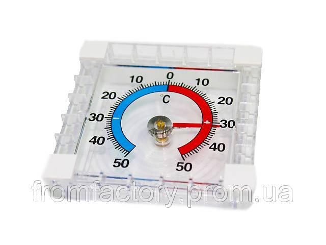 купить бу Термометр уличный механический (оконный на липучках) 7х7см в Харькове