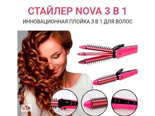 Плойка Стайлер Праску NOVA 3 в одному- объявление о продаже  в Лисичанську