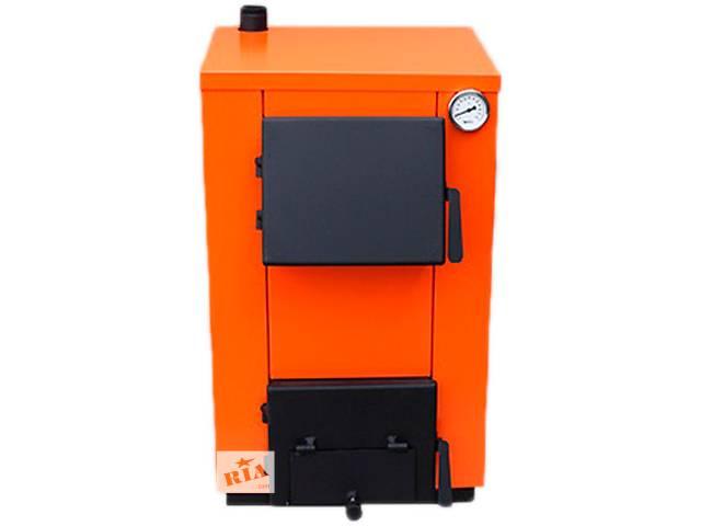 продам Отопительный котел на тв.топливе МаксиТерм 14 кВт(без плиты) бу в Кривом Роге (Днепропетровской обл.)