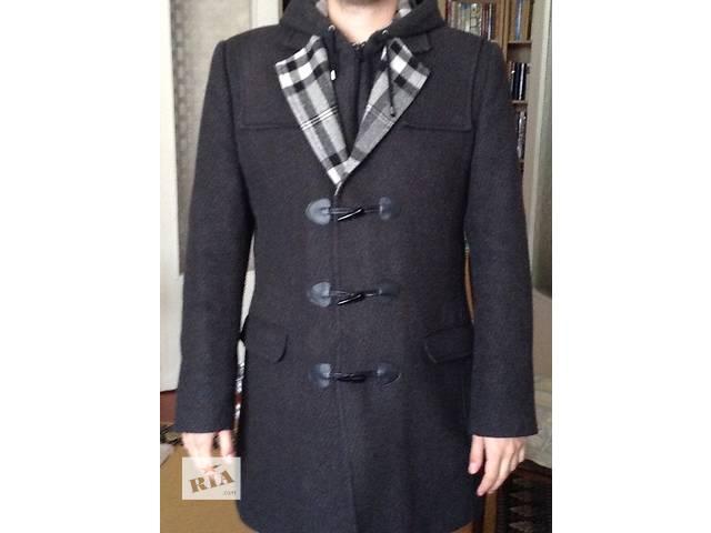 купить бу Пальто демисезонное, шерсть 70%, размер М в Киеве