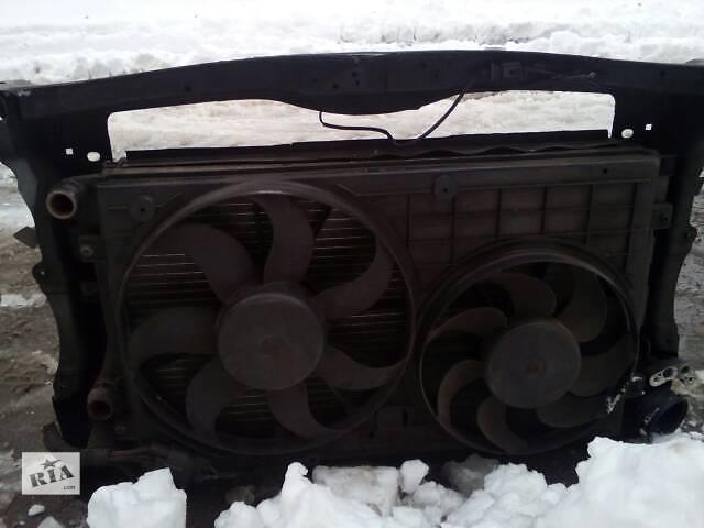 продам панель радиаторы воды конд .интеркулер вентиляторы OCTAVIA A5 1.9TDI. бу в Ровно