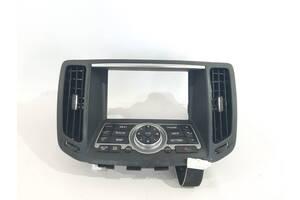 панель управления мультимедиа и воздуховодов Infiniti G37 `08-15 , 283951UF2A