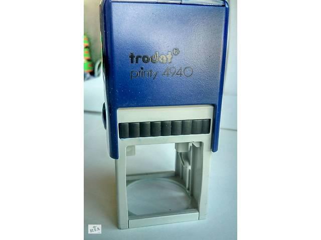 купить бу Печать Trodat Printy 4927(60х40 мм)и 4940 (40мм-кругла печать) в Львове