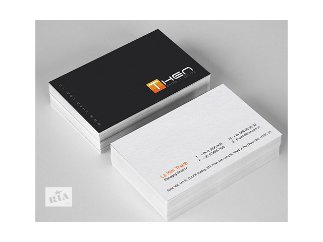 бу печать визиток   в Украине