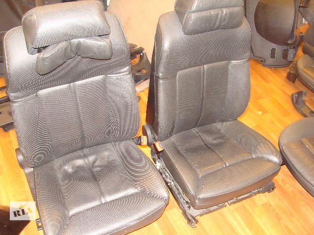 купить бу Передние сиденья BMW е65 в полном заряде в Киеве