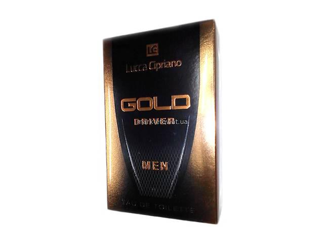 купить бу Туалетная вода Мужская Lucca Cipriano Gold Driver Eau De Toilette 100 мл. в Первомайске