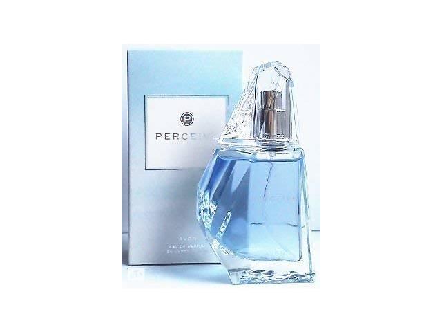 бу Женская парфюмерная вода Avon Perceive 50мл голубая новая восточный цветочный аромат в Мариуполе