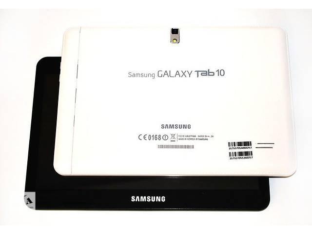 купить бу Планшет-телефон Samsung Galaxy Tab10 экран 10 дюймов 2SIM 2 ядра 2 камеры 1 ГБ ОЗУ в Львове