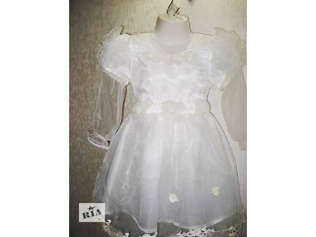 купить бу Платье новогоднее Снежинка в Киеве