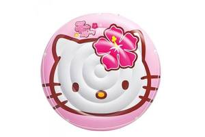 Детский надувной плотик Hello Kitty Intex 137 см (56513) Art. phoe-573447991