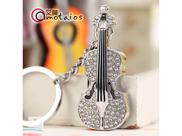 Подарочная флешка-брелок Скрипка 8 гб- объявление о продаже  в Одессе
