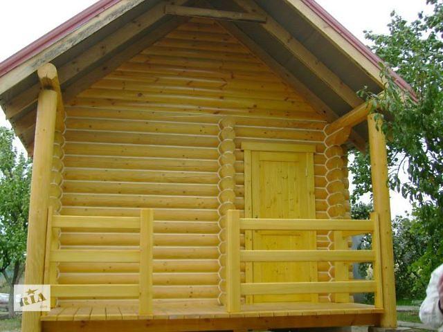 купить бу ВИПОЛНИМ-Герметизация -шлифовка - покраска деревянного дома в Одессе