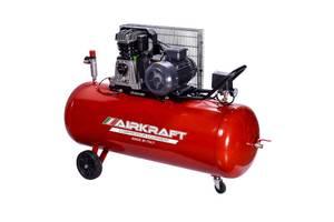 Поршневой компрессор с ременным приводом 200л, 510л/мин, 380V, 3кВт AIRKRAFT AK200-510-380