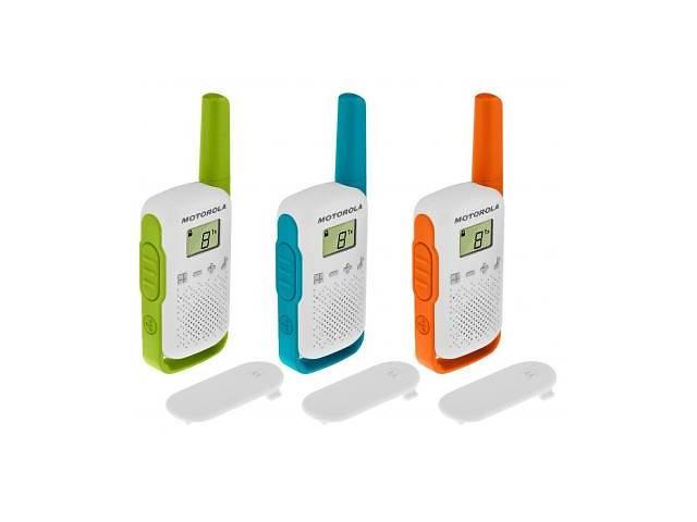 купить бу Портативная рация Motorola TALKABOUT T42 Triple Pack (B4P00811MDKMAW) в Киеве