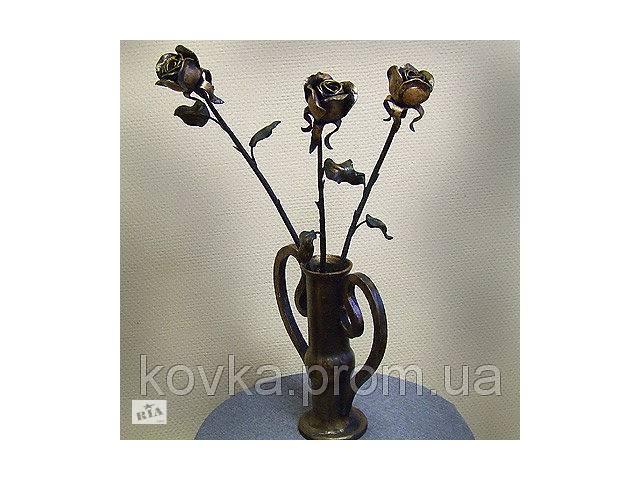 купить бу Ковані троянди в Ладижині