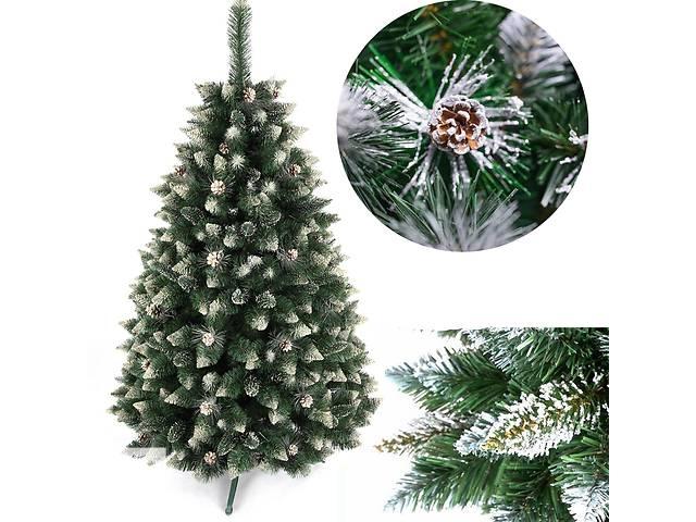 купить бу Рождественская елка Серебро шишки 160 см в Львове