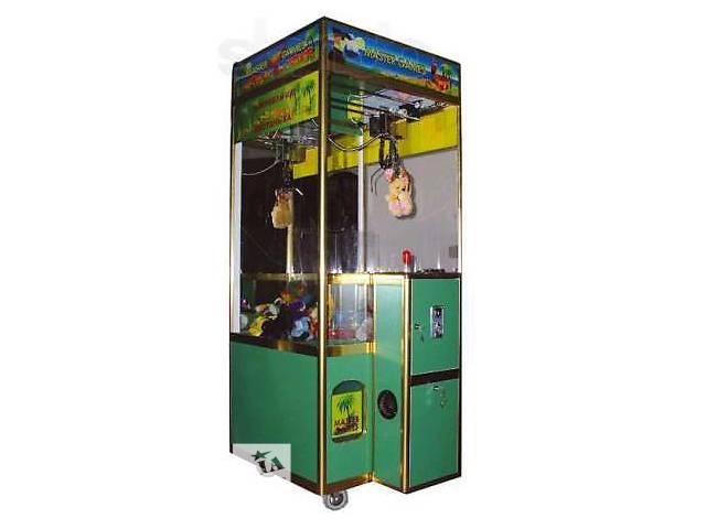 бу Продам автомат кран-машина, мягкая игрушка вендинговый (MASTER GAMES) в Кременчуге