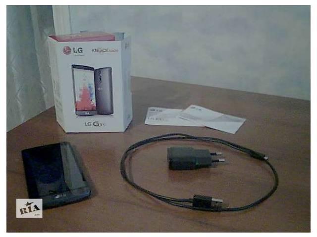 продам Продам Cмартфон LG G3s D724 Black бу в Харькове