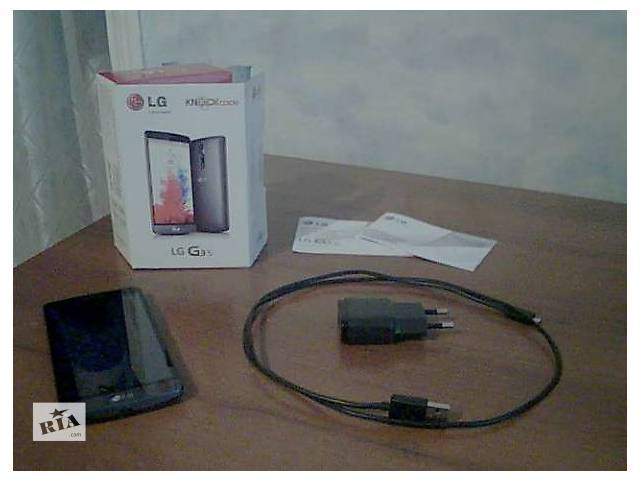 бу Продам Cмартфон LG G3s D724 Black в Харькове