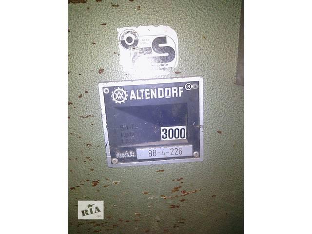 бу Продам форматно-раскроечный станок Altendorf F90  в Украине