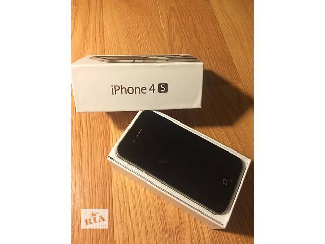 Продам iPhone 4s 16gb Black Neverlock- объявление о продаже  в Ровно