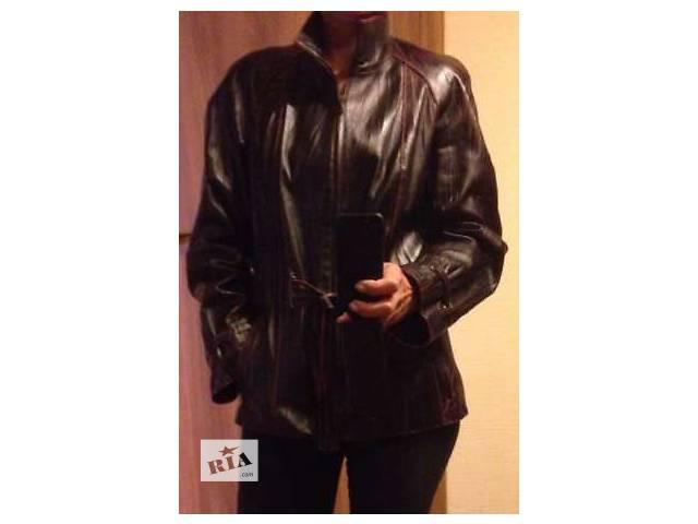 Продам кожаную куртку в отличном состоянии- объявление о продаже  в Киеве