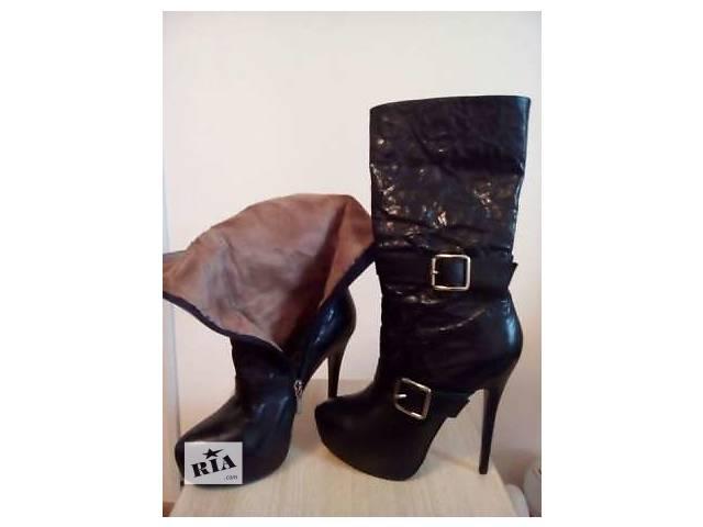 Продам Кожаные осенние женские ботинки от Miraton- объявление о продаже  в Киеве