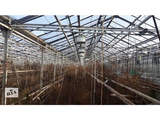 продам Продам крупный тепличный комплекс в Черкасской области бу  в Украине