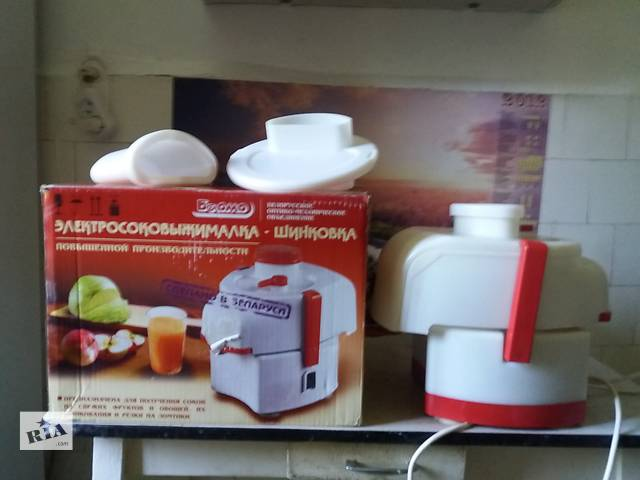 продам Продам новую соковыжималку-шинковку повышенной производительности бу в Донецке