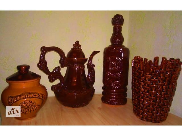 бу Продам новый керамический набор в украинском стиле- отличный подарок ! в Яготине