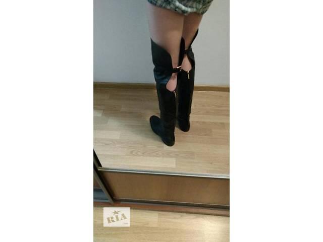 продам Продам оригинальные сапоги,бутфорди Dolce&Gabbana бу в Львове