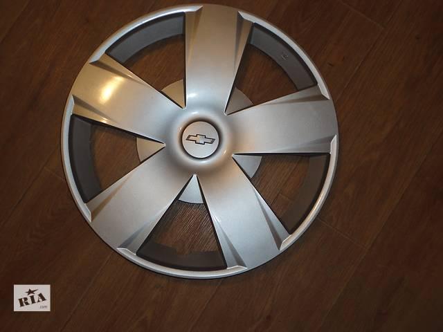 купить бу Продам Оригинальные колпаки на колеса Chevrolet Шевроле R15 Оригинал 95154381 в Киеве