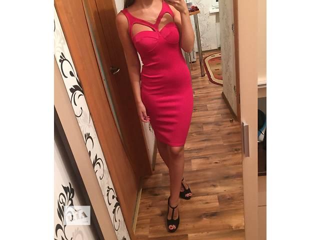 бу Розовое платье в Чорткове