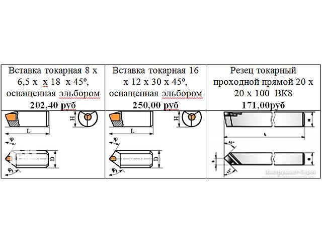 Продам токарные резцы и эльборовые вставки- объявление о продаже  в Луганске