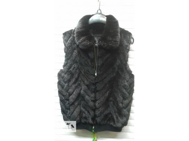 купить бу продам жилет из натурального меха норки в Луганске