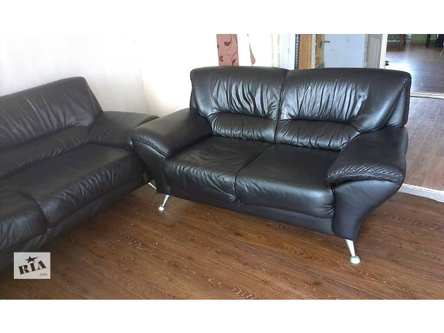 продам Продаю кожаные диваны 2+3. бу в Николаеве
