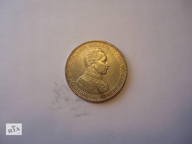 Продаю монету 5 марок, Пруссия, 1914 год. Серебро.- объявление о продаже  в Киеве